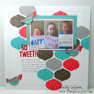 Cute layout- could be used for many themes
