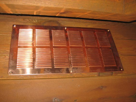 Copper Interior Vent Covers And Copper On Pinterest