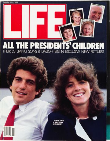 LIFE Magazine November 1984 - John F. Kennedy, Jr. & Sister Caroline
