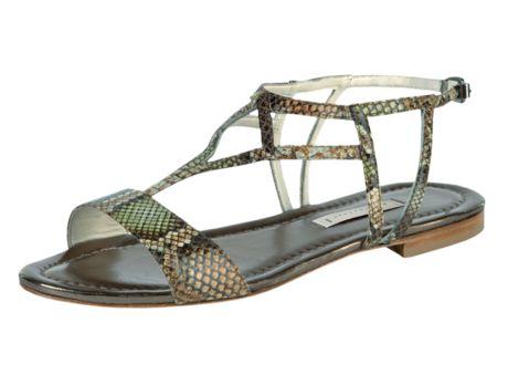 Sandalen mit Pythonprint :-)