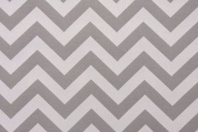 Premier Prints Zig Zag Outdoor Fabric in Grey $8.95 per yard