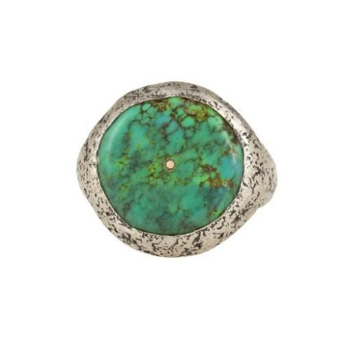 Lou Zeldis Sterling Silver & Turquoise Ring