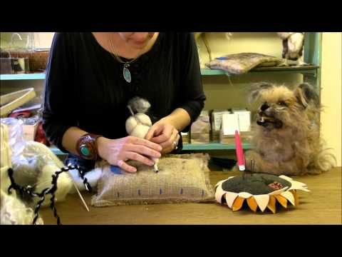 How to Needle Felt a Pony: Episode 4 -More Body by Sarafina Fiber Art - YouTube