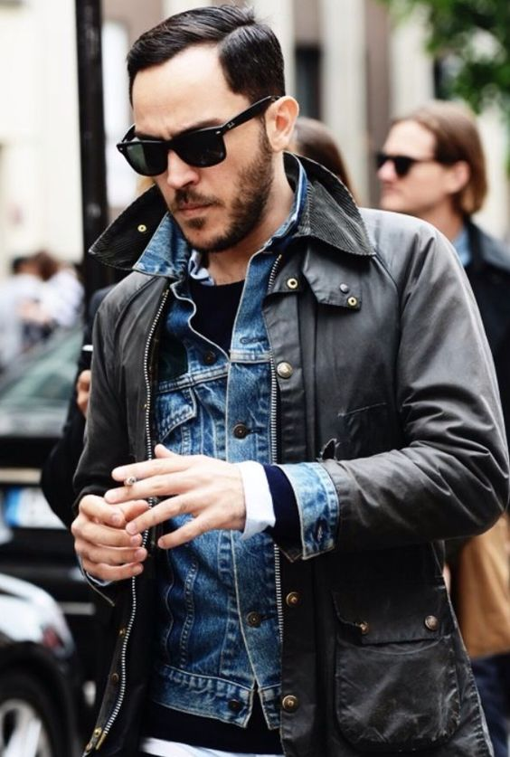 17 Best images about Barbour Denim | Layering, Jackets and Denim ...