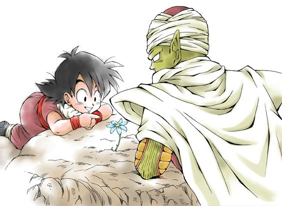 Gohan and Piccolo. <3 #DBZ