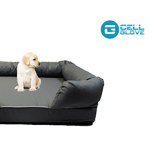 Cell Glove Friendly Paws Premium Pet Bed Lounge In Solid Memory