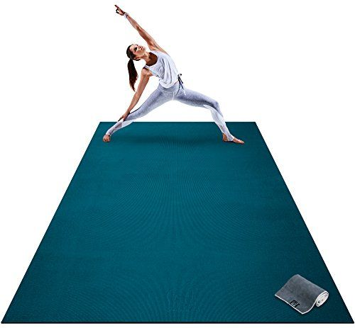 Premium Extra Large Yoga Mat 9 X 6 X 8mm Extra Thick Https Www Amazon Com Dp B078cr64w5 Ref Cm Sw R Pi Large Yoga Mat Large Workout Mat Mat Exercises
