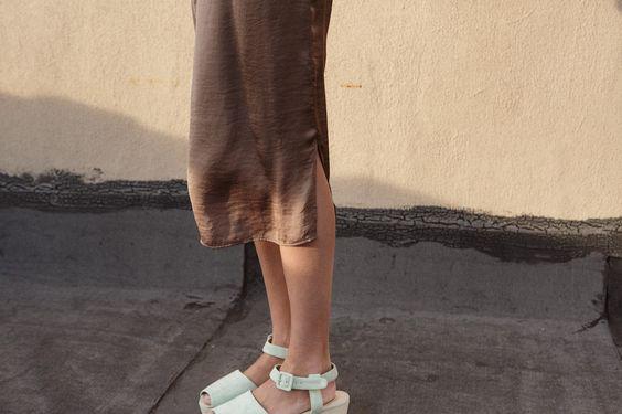 MELISA SHIFT DRESS, BRONZE