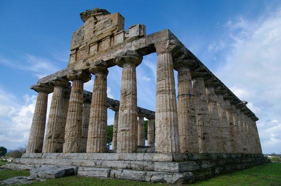 Paestum e a herança grega no Sul da Itália