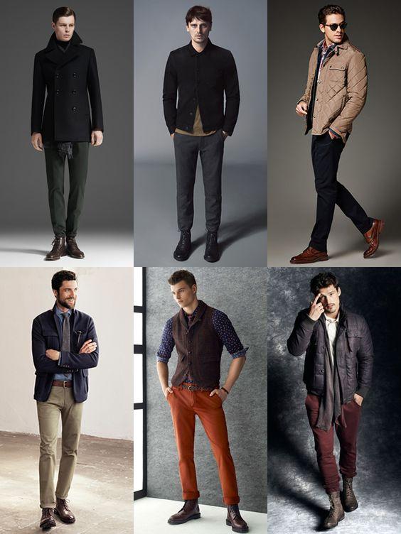 Men's Autumn/Winter Boots Lookbook | Men's Style | Pinterest ...