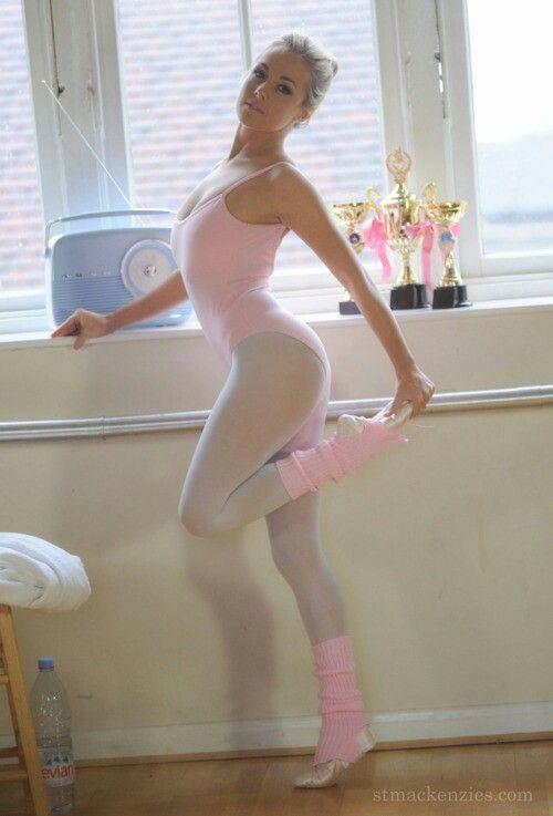 Pink Sexual Pantyhose 11