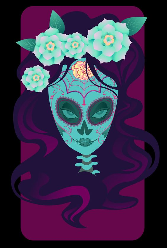 Dia de los Muertos by *spicysteweddemon on deviantART