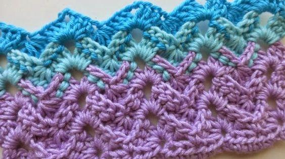 Zig zag crochet, Crochet stitches and Crochet stitches patterns on ...