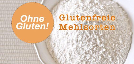Glutenfreie-Mehlsorten