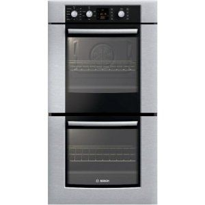 #7: Bosch 300 Series HBN3550UC 27 Double Electric Wall Oven