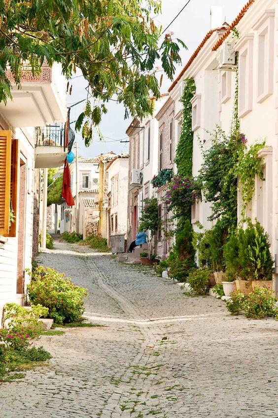 La isla de Cunda (Alibey), Ayvalık, Turquía