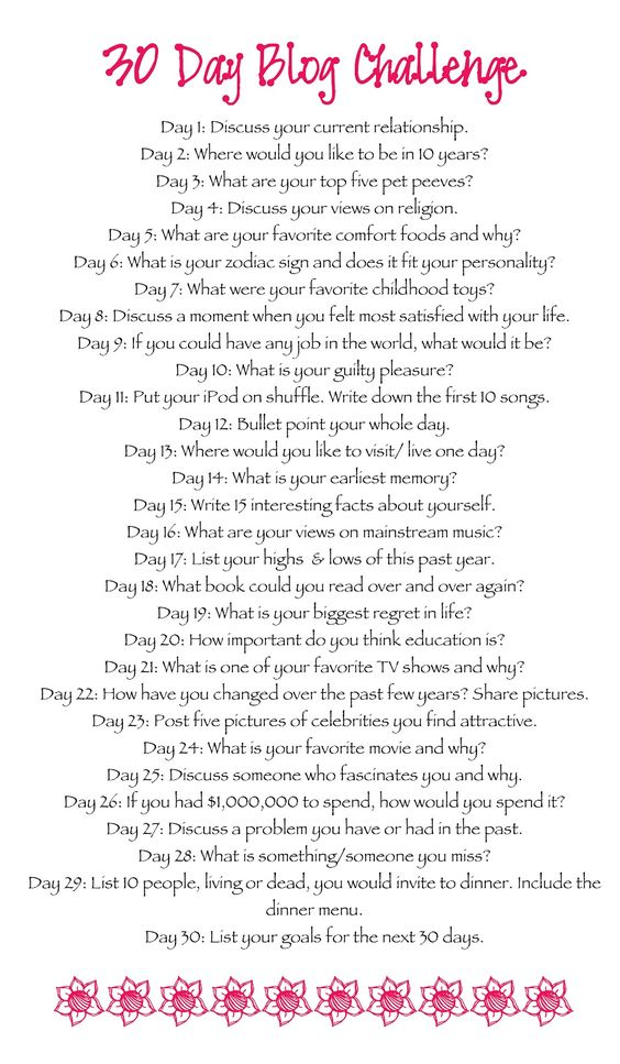 This is great! 30 Day Writing Challenge @Holly Hanshew Elkins Taylor might be good for the new year.
