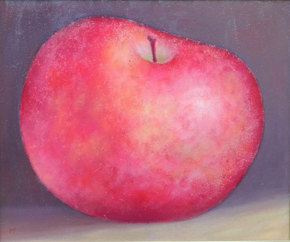 red apple [Art Deco-A4377] - $500.00 painting by oilpaintingsartmaker.com