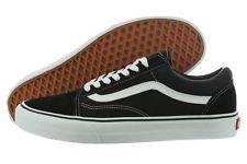 Vans Old Skool Black VN000D3HY28 White Casual Canvas Shoes Medium (B, M) Women