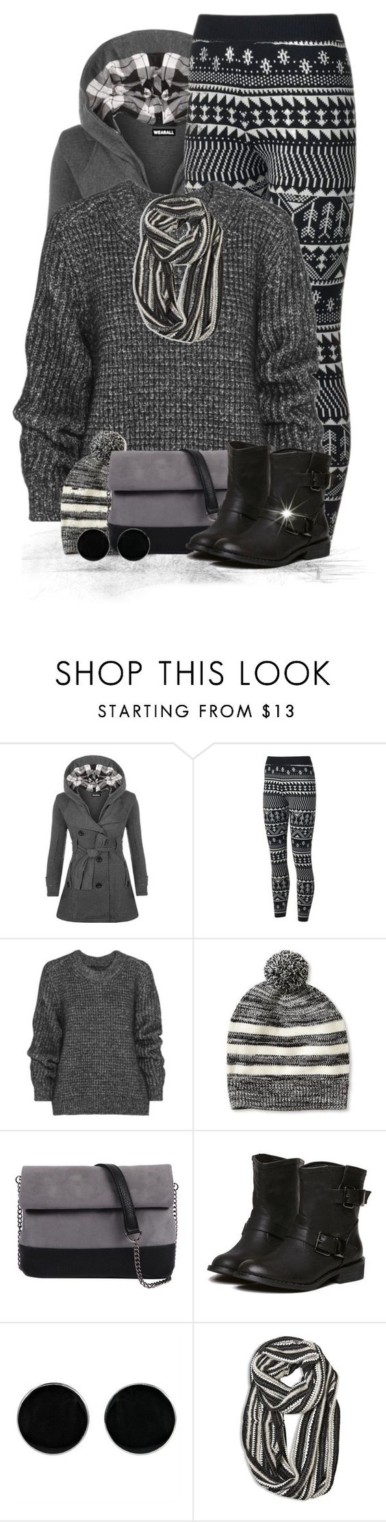 """""""Oversized Sweater & Leggings 2"""" by majezy ❤ liked on Polyvore featuring WearAll, Belstaff, Banana Republic, 7 Chi, AeraVida, Avenue, women's clothing, women's fashion, women and female"""
