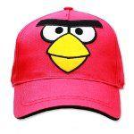 Angry Birds cap.
