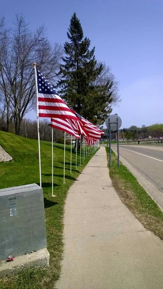 Walk of Flags