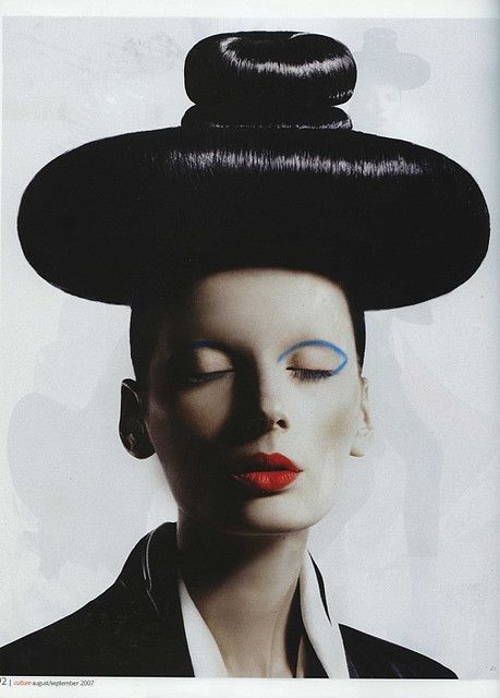 Geisha: Hair Art, Hairstyle Ideas, Hair Reference, Artistichair Hairandtheblog, Garde Hair, Editorial Hairstyles
