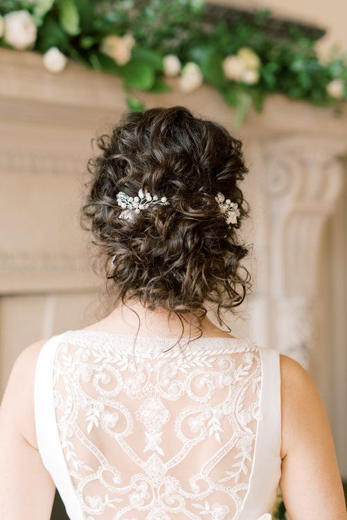 Natural Curls Curly Wedding Hair Curly Bridal Hair Romantic