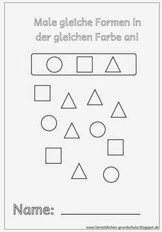 Imagini pentru geometrische figuren zum ausmalen