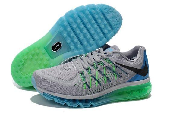 Nike Air Max 90 pour Femme Vert jaune/Gris/Brun
