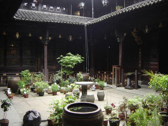 Resultado de imagem para casas-patios na china