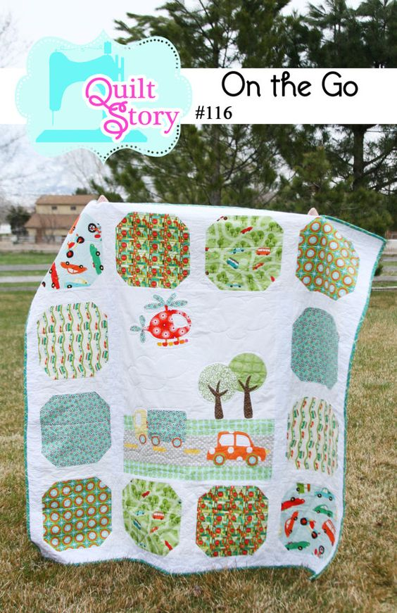 I think this is the quilt pattern I'll get for Bub's quilt made by Mama.: