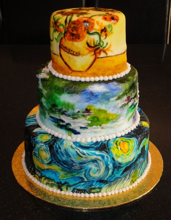Starry nights, Cakes and Middle on Pinterest