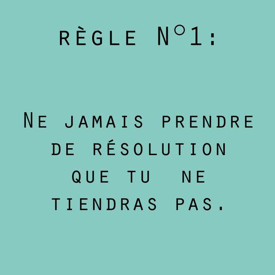 règle n°1
