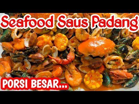 Resep Seafood Saus Padang Istimewa Youtube Di 2020 Resep Seafood Makanan Pedas Makanan