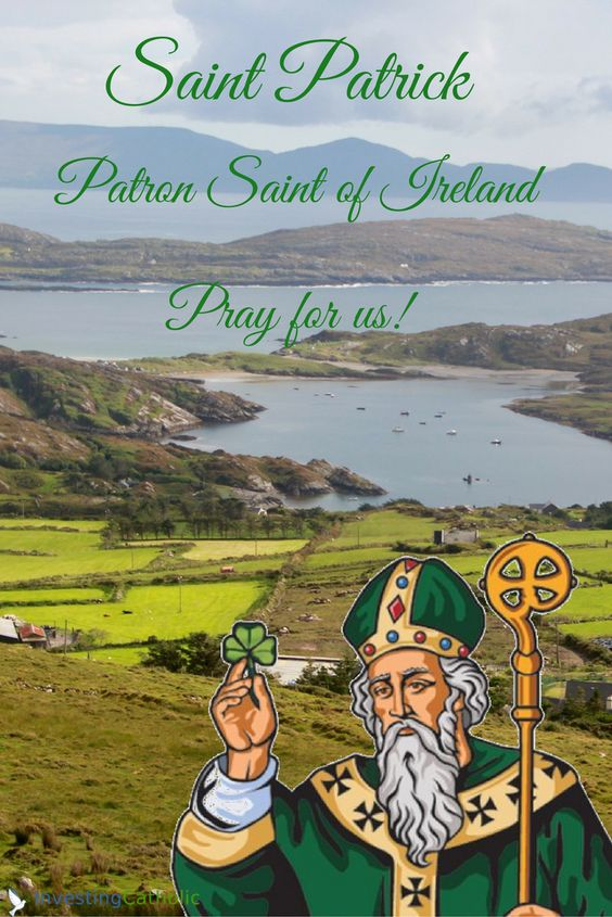 Happy St. Patrick's Day to everyone! St. Patrick, Bishop and Patron Saint of Ireland  #Catholic #Jesus #Lent2017 #saintpatrick #finance #investing #usccb #sri #esg