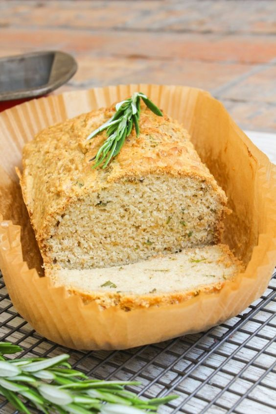 Paleo Rosemary Almond Bread