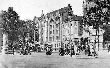 Askanischer Platz am Anhalter Bahnhof ca.1900