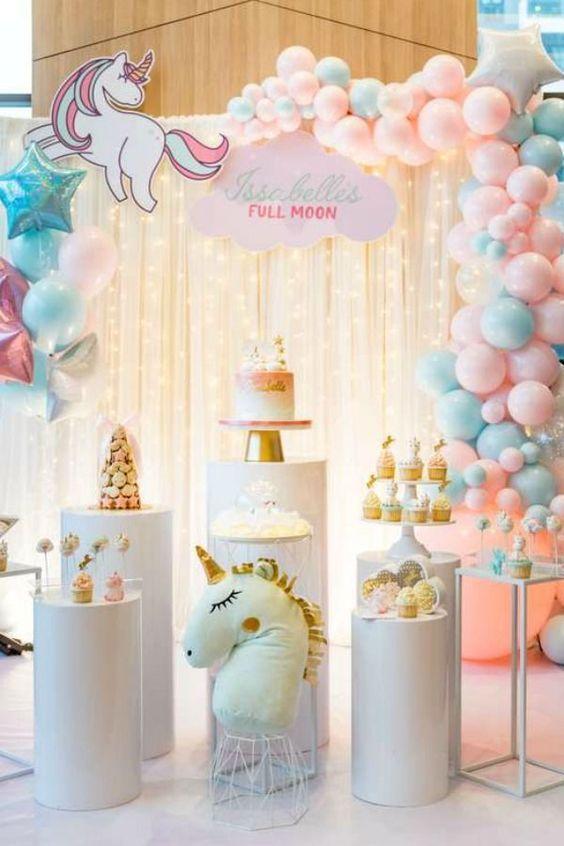 36 Most Popular Girl 1st Birthday Themes In 2021 Girl Birthday Decorations 1st Birthday Party For Girls 1st Birthday Decorations