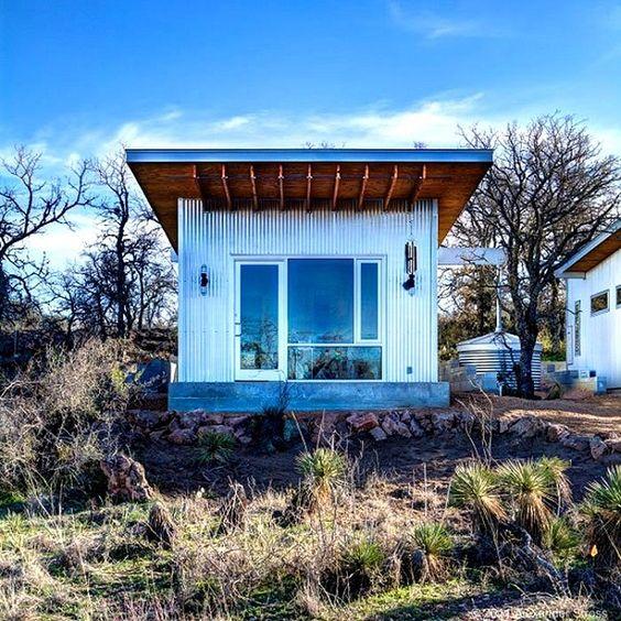 De petites maisons écologiques