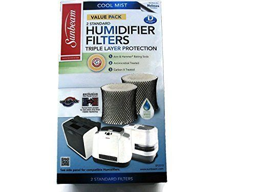 Sunbeam Humidifier Filter With Color Check Humidifier Filters Humidifier Cool Mist Humidifier
