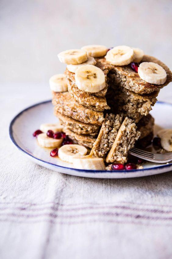 Healthy Chai Banana Pancakes   halfbakedharvest.com @hbharvest