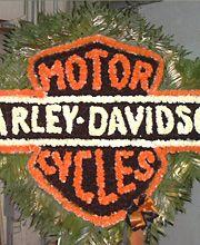 Harley Davidson Flowers