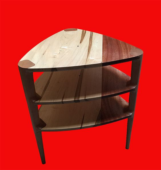 3-tiered guitar pick side table