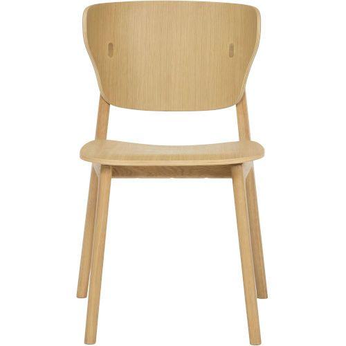 Modloft Emi Natural Oak Dining Chair De Ska 013445 Nat In 2020