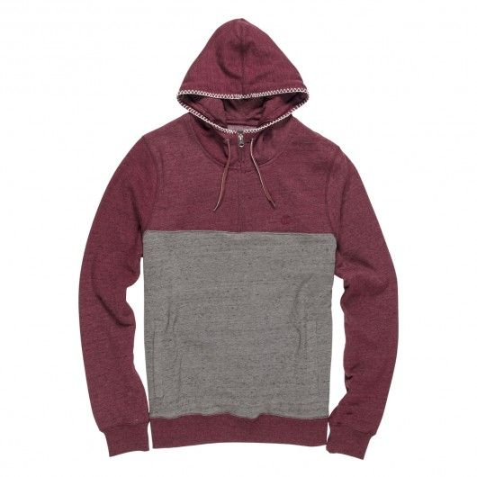 ELEMENT Meridian 1/4 Zip sweat à capuche homme 69,00 € #skate #skateboard…