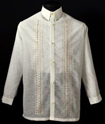 Jusilyn Barong Tagalog #1072 A sharp style for an impeccable formal look. #BarongsRUs #barong