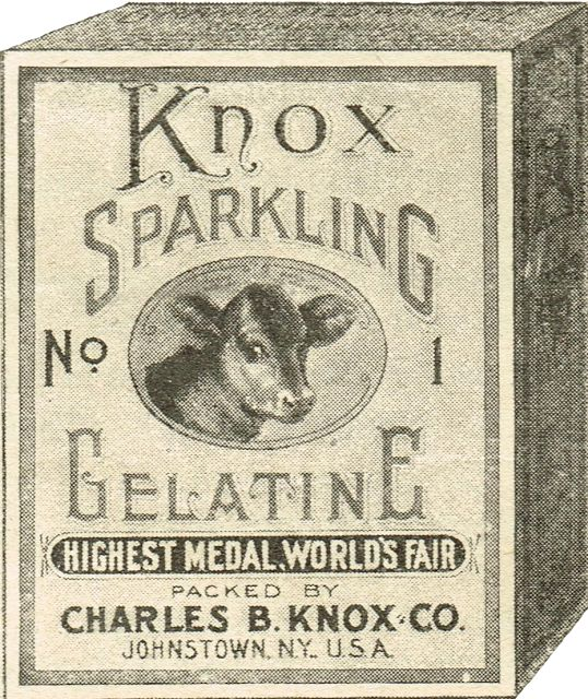 Antique Graphics Wednesday - 1910 Gelatin Advertisement