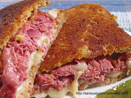 Oh Reuben Sandwich,  how delicious you look..