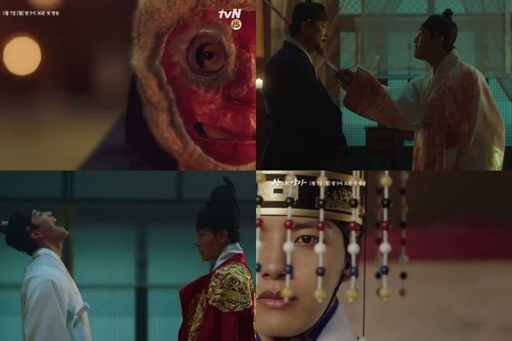 """Watch: Yeo Jin Goo Masterfully Takes On Dual Roles Of King And Clown In New Teaser For """"The Crowned Clown"""""""